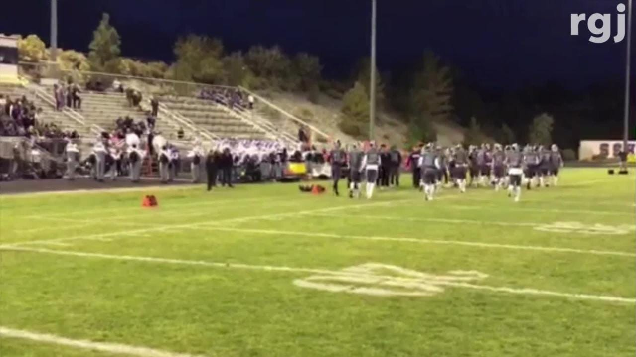 Spanish Springs beat McQueen on Friday night, 28-14, in Northern 4A football.