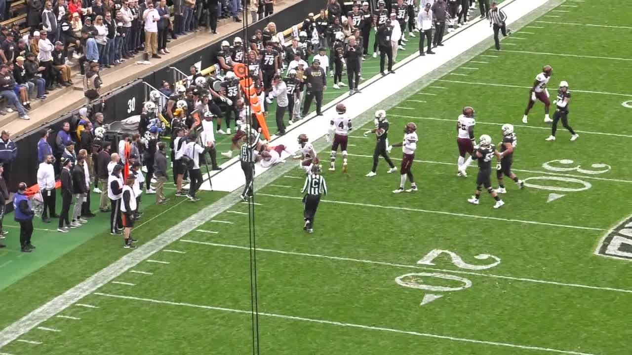 Video of Colorado's blindside hit of ASU punt returner N'Keal Harry in the third quarter of Saturday's game.
