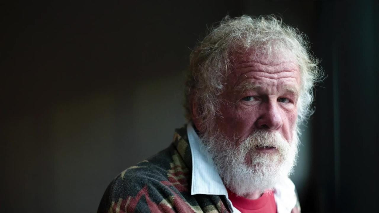Actor Nick Nolte speaks about growing up in Iowa