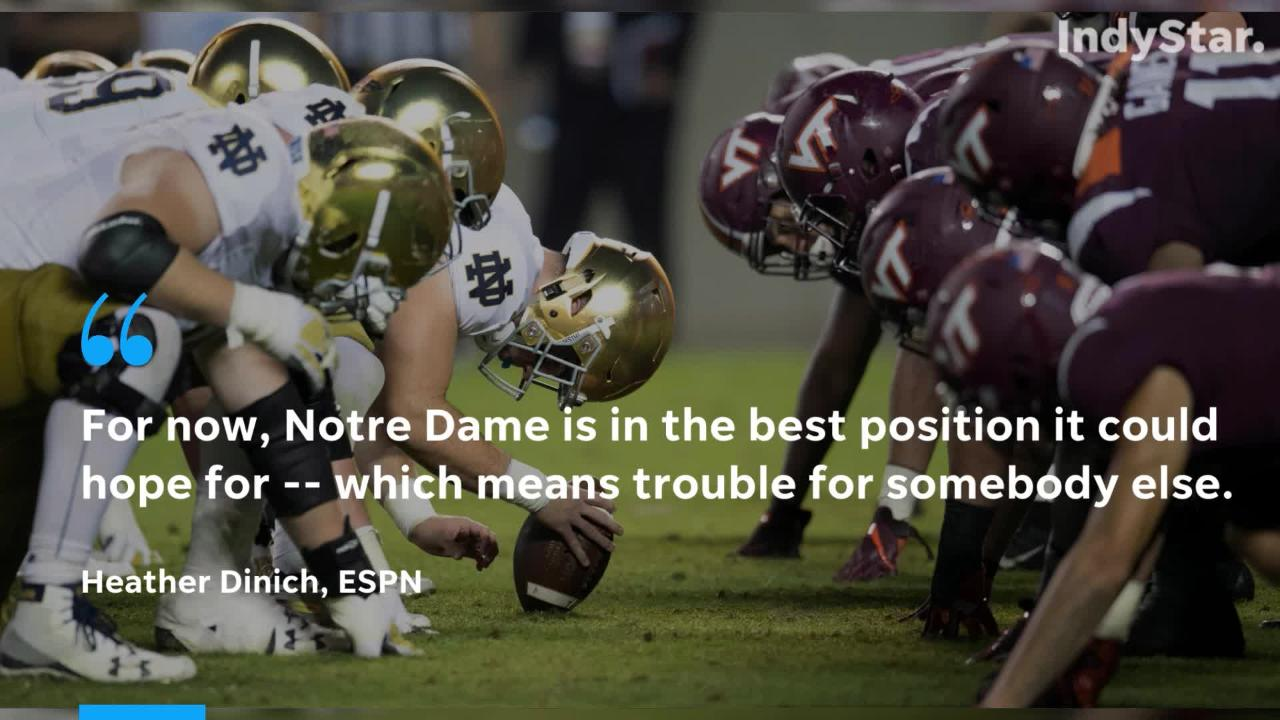 16081663 Notre Dame is in thick of College Football Playoff conversation