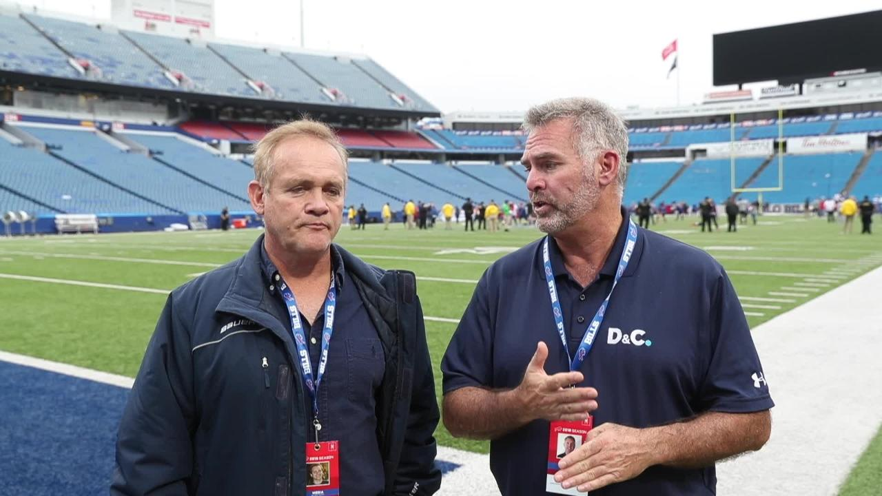 Sal Maiorana and Leo Roth recap the Buffalo win after the Bills' defense suffocated Tennessee's offense.