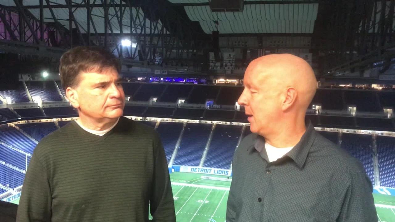 Tom Silverstein and Pete Dougherty try to make sense of Sunday's 31-20 loss to the Detroit Lions at Ford Field.