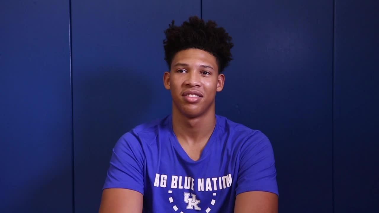 Kentucky's Zan Payne talks about 2018-19 basketball team