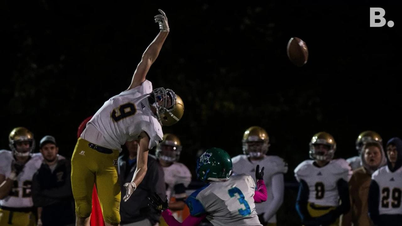 Colchester football was ready to defend their turf on Friday night, Oct. 6, 2018, beating Essex 28-7.