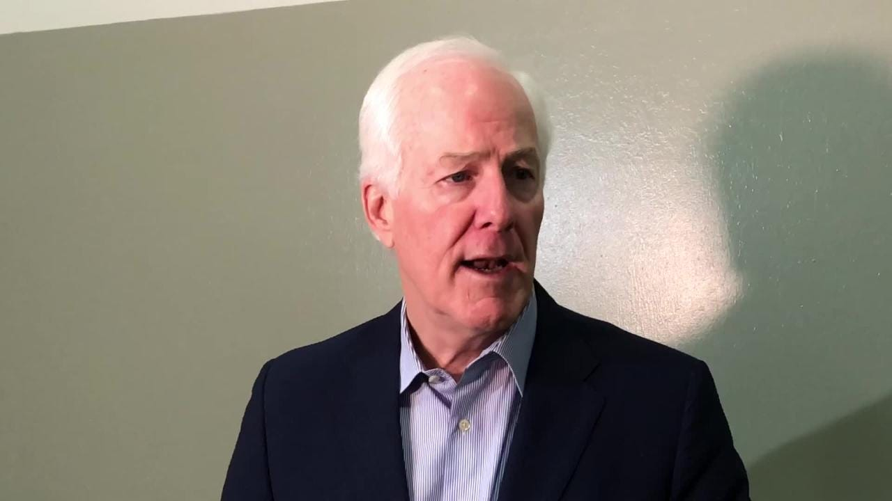 U.S. Sen. John Cornyn comments on Saturday's confirmation vote