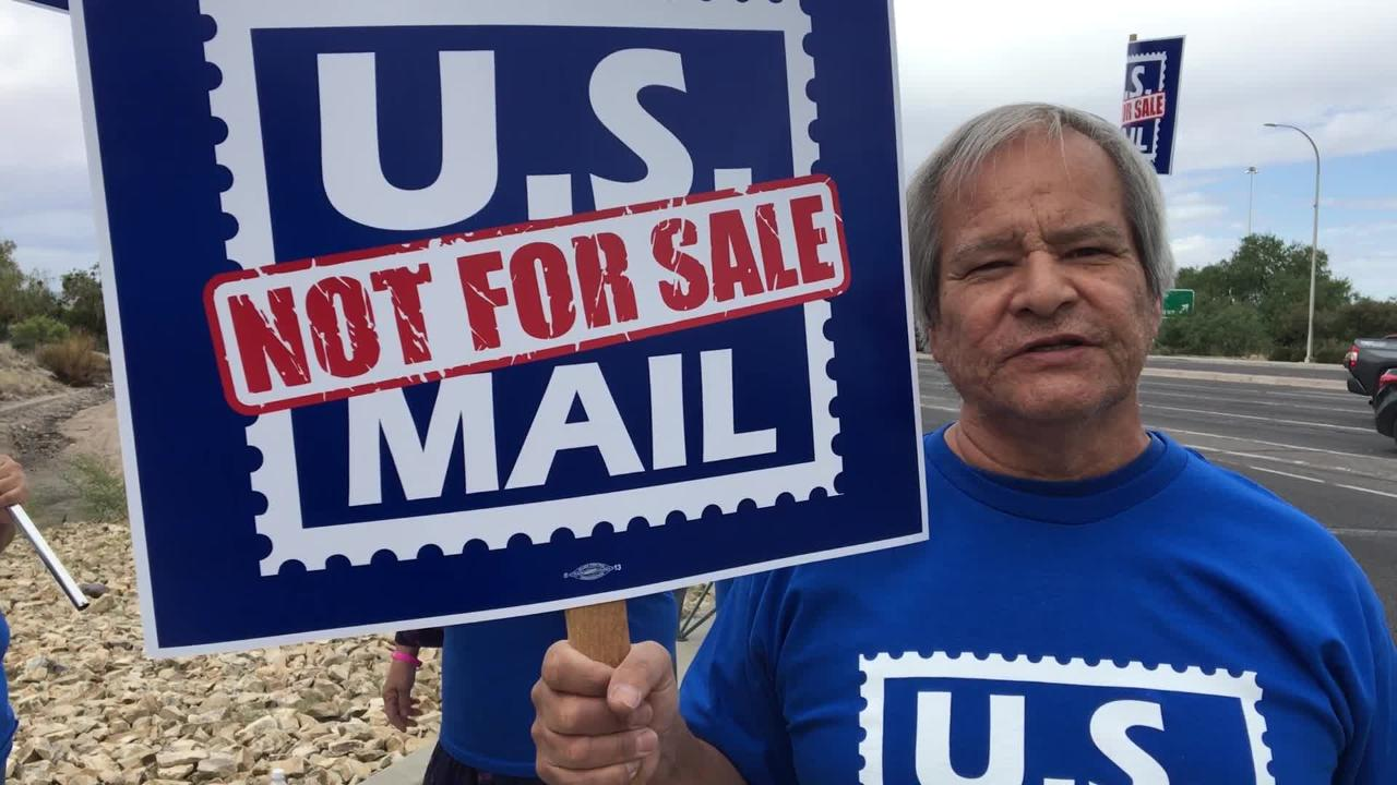 Nacho Angel talks about why he believes the United States Postal Union should not be privatized.