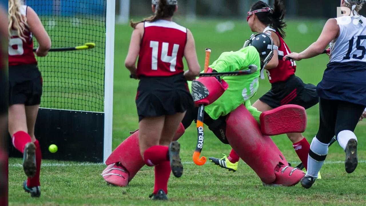 Essex field hockey took on CVU at home, pulling off a narrow 2-1 win on Monday, Oct. 8, 2018.