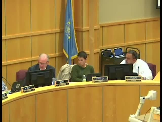 Kent Alberty, the Sioux Falls school board president, was the only board member who voted against changes to the district's new graduation policy Monday night. He clarified his stance Monday.
