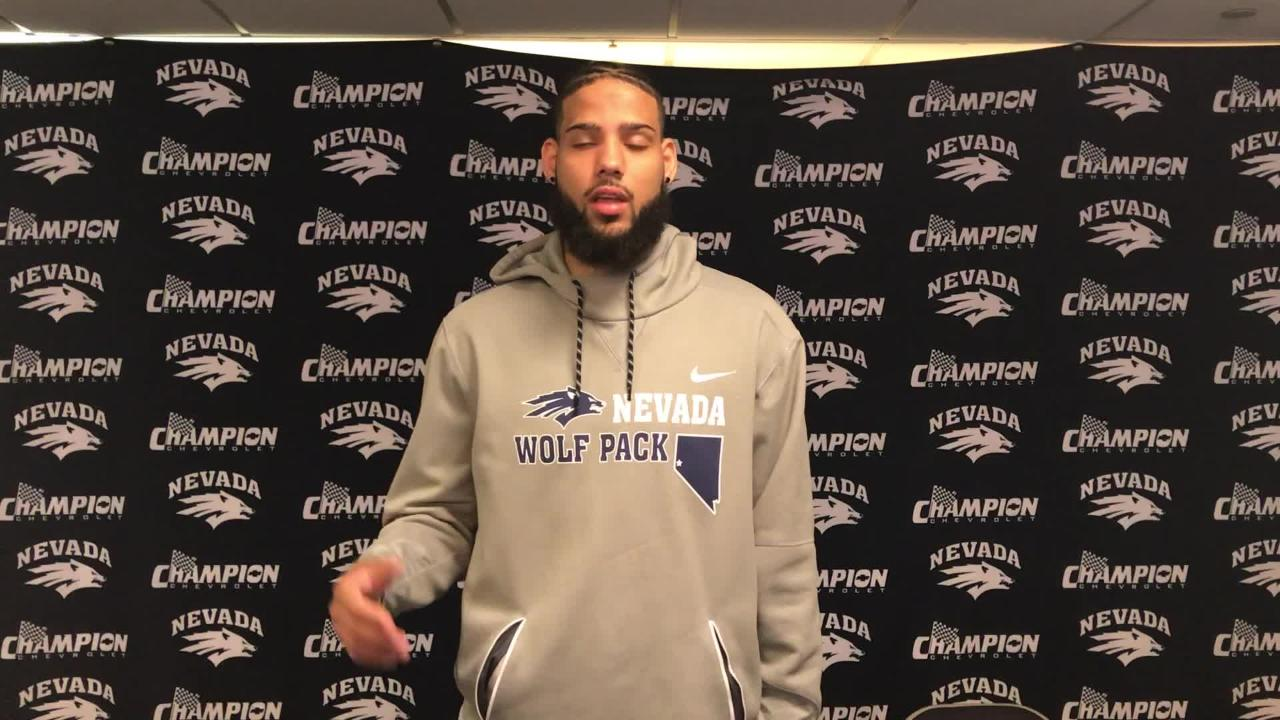 Nevada's Caleb Martin talks about managing the hype surrounding the Wolf Pack's upcoming basketball season.