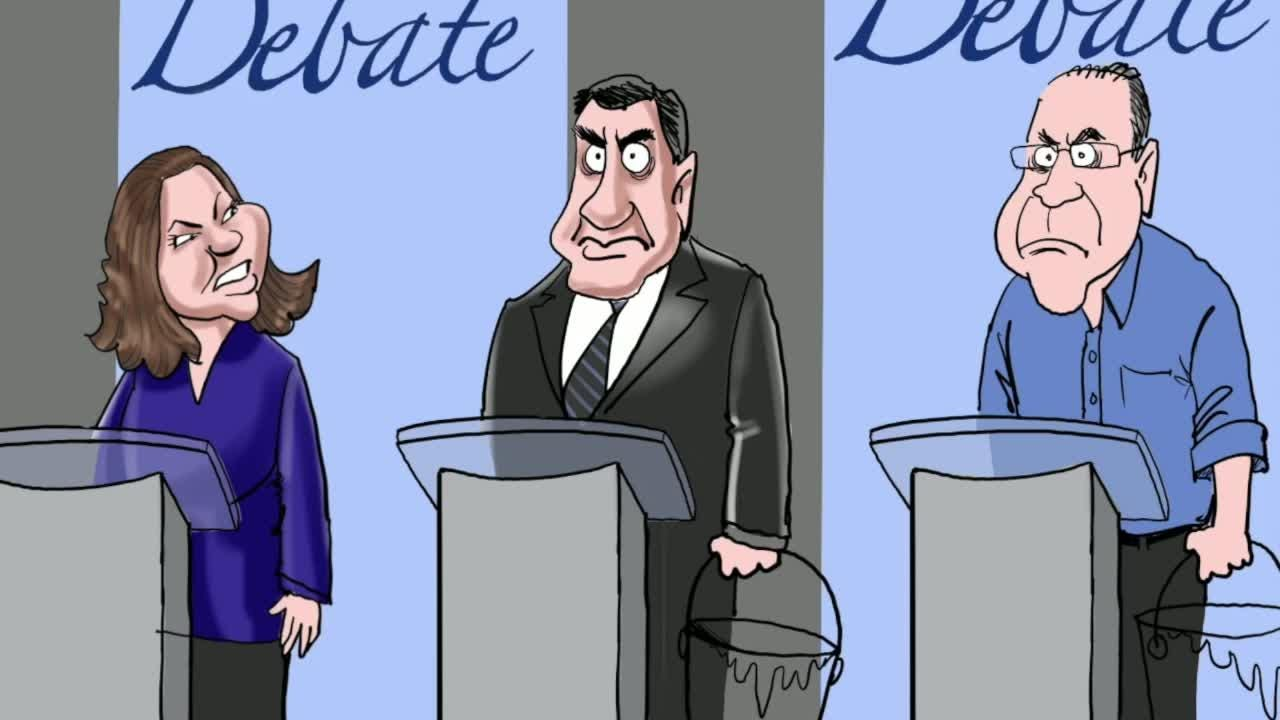 Watch Gary Varvel's time lapse video of the Indiana Senate debate