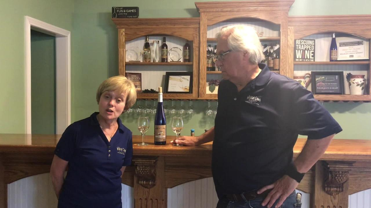 The award-winning Cayuga White was chosen as the winery's 10th anniversary selection wine.
