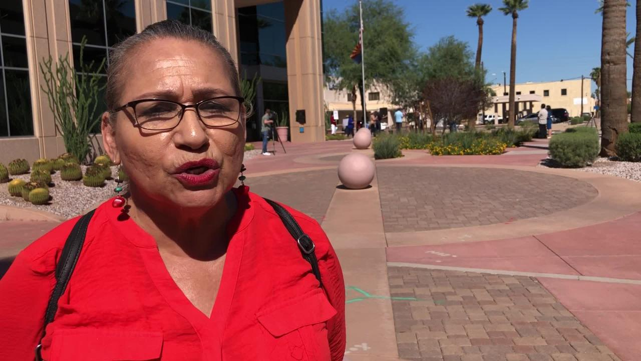Ofelia Canez, a member of Uncage & Reunite Families Coalition, explains why her group is protesting Tuesday.