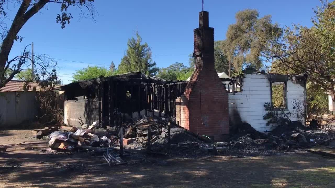 A Cottonwood woman died in an early Sunday fire at her Willow Street home.