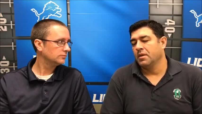 Free Press' Dave Birkett & Carlos Monarrez discuss takeaways from talking with assistants, injuries and where Lions stand at bye week, Oct. 9, 2018.