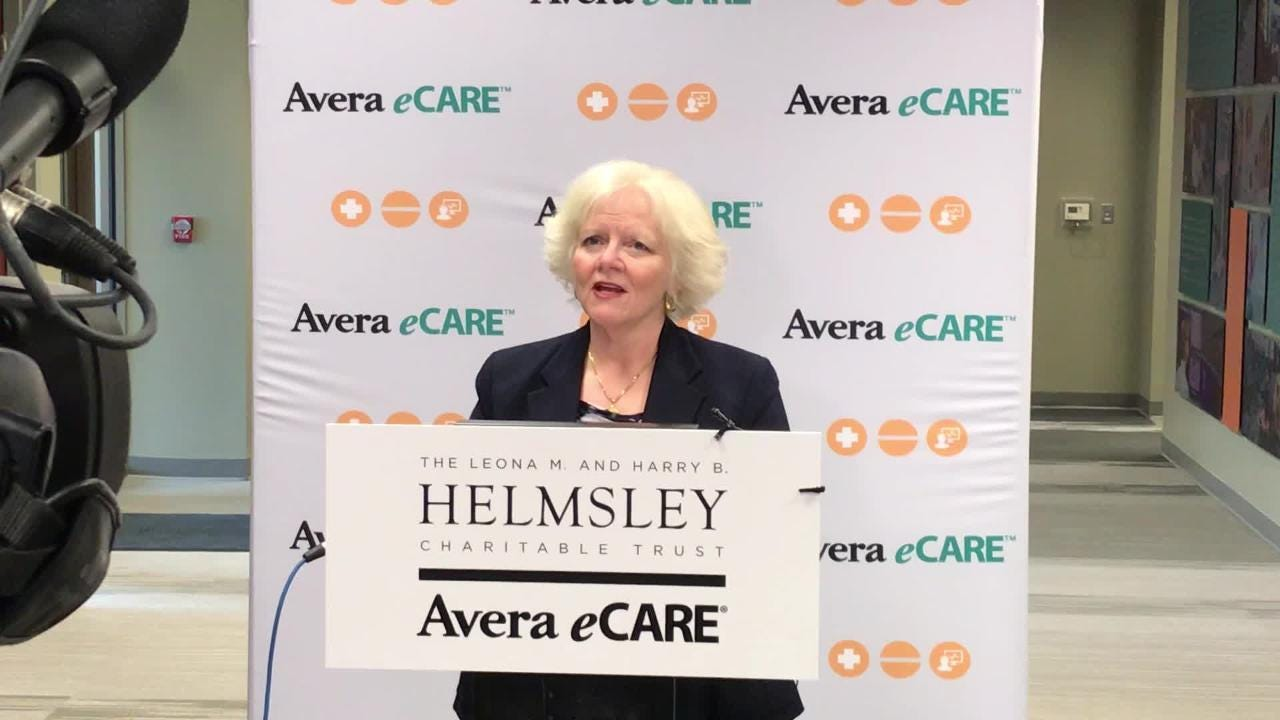 Avera eCare CEO Deanna Larson explains telemedicine and how Avera helps patients and care providers remotely from its hub in Sioux Falls.