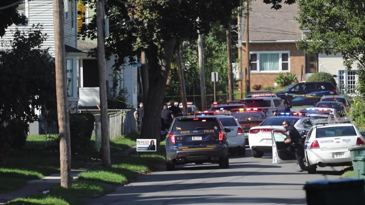 RAW VIDEO: Dramatic police chase and shooting in Rochester