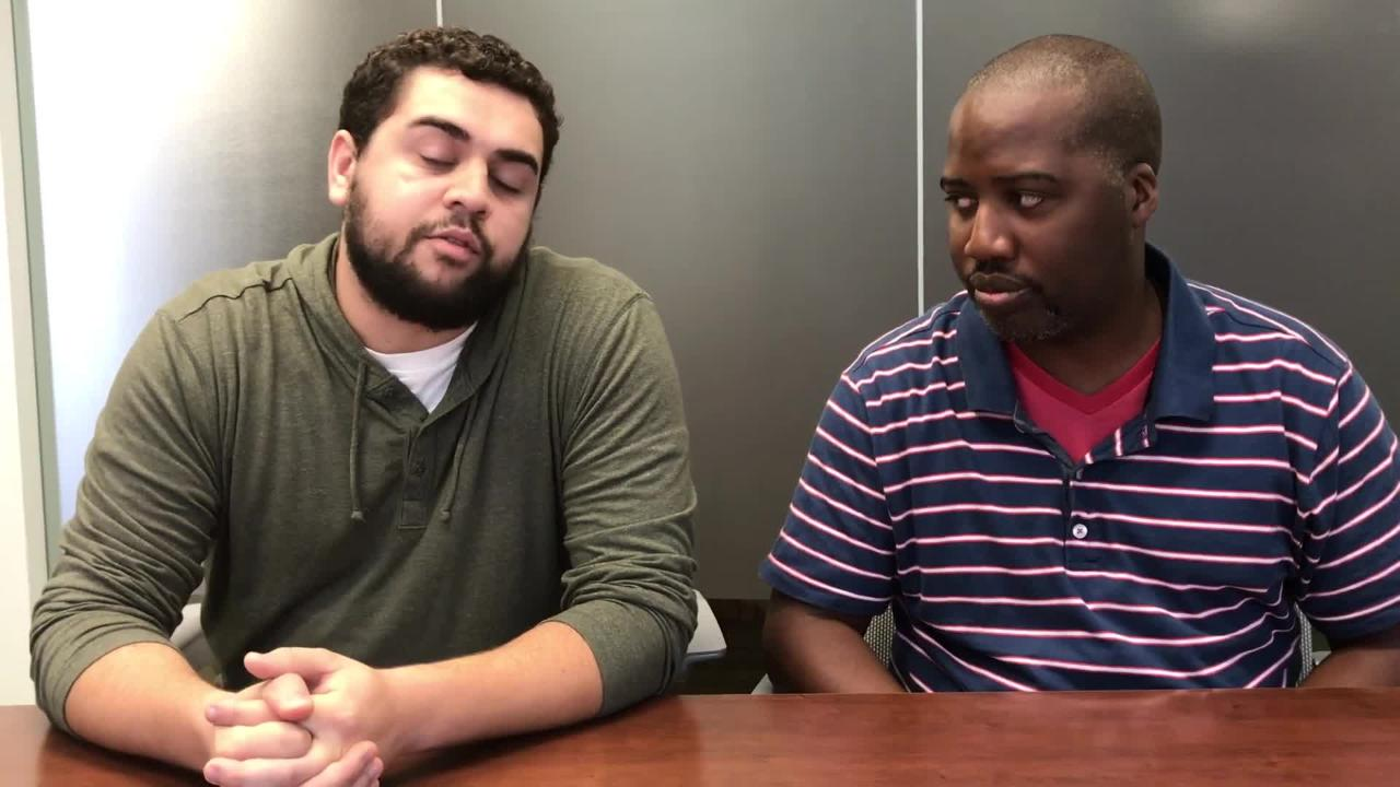 High school reporters Brian Calloway and Nathaniel Bott make their picks for the Week 8 football games.