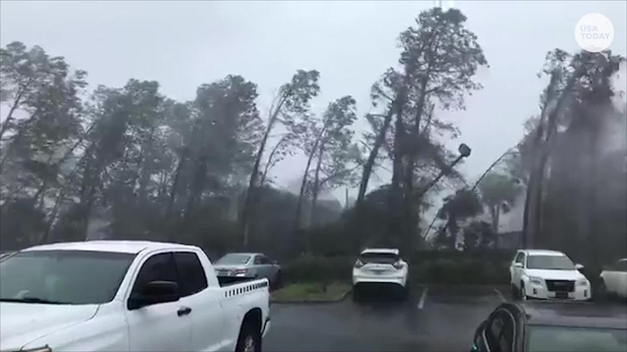 Hurricane Michael made landfall in Florida on Wednesday with wind speeds up to 155 mph.