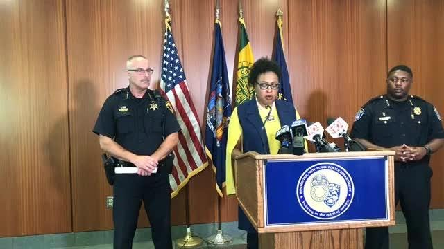 Rochester Mayor Lovely Warren says she's thankful that today's tragedy was brought to and end before it got worse.