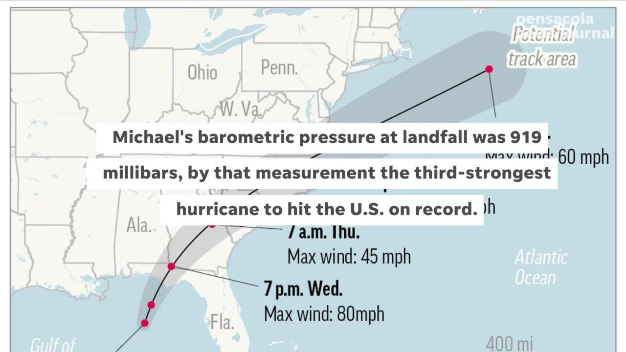 A look at some of the facts that made Hurricane Michael a record-breaking storm. Karl Schneider and Vonna Keomanyvong, Naples Daily News