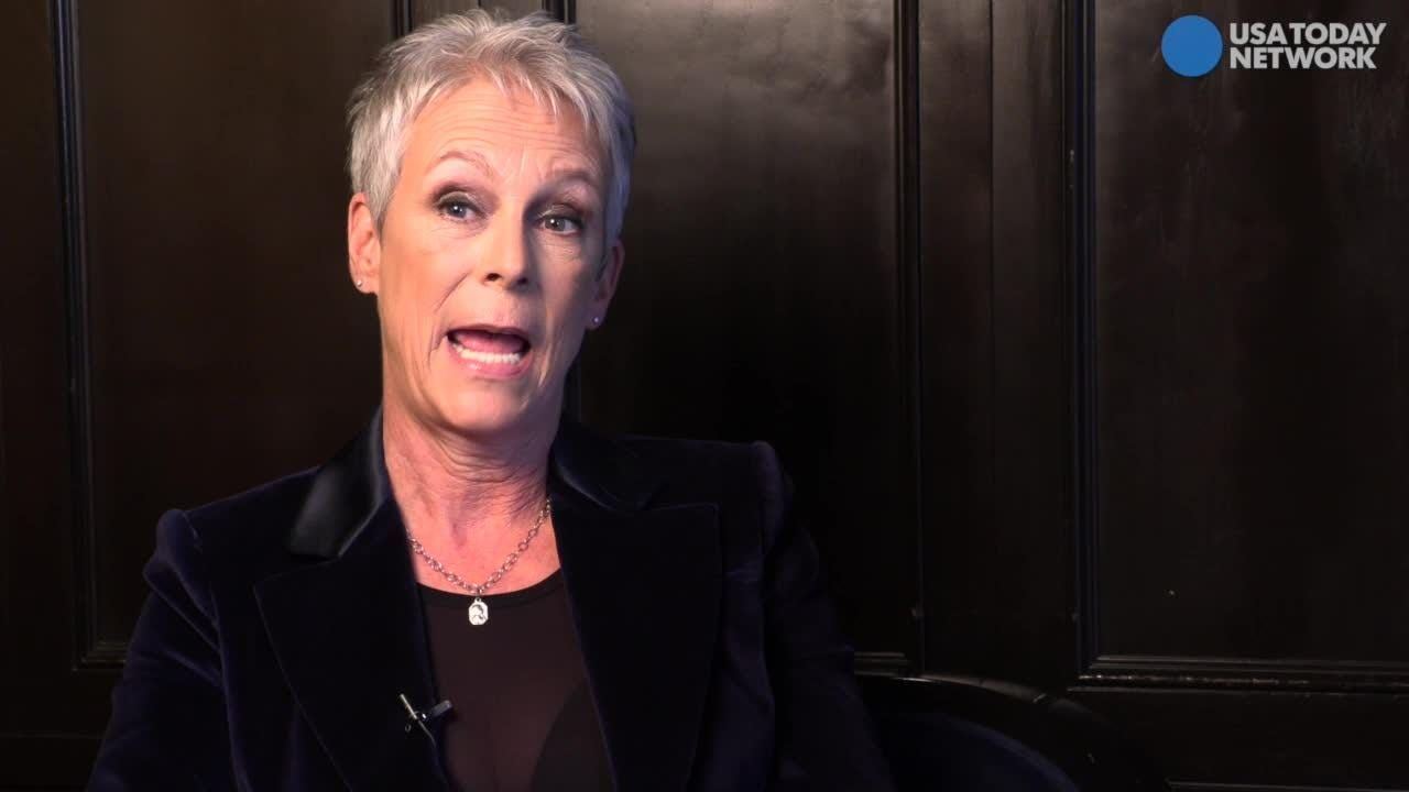"Jamie Lee Curtis responds to Fox News' attempt to shame her for Laurie Strode's gun use in the latest ""Halloween"" film."