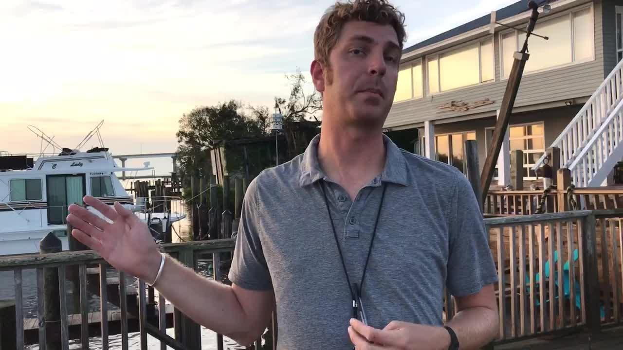 Hurricane Michael aftermath: Karl Etters reports from Franklin County  Thursday morning