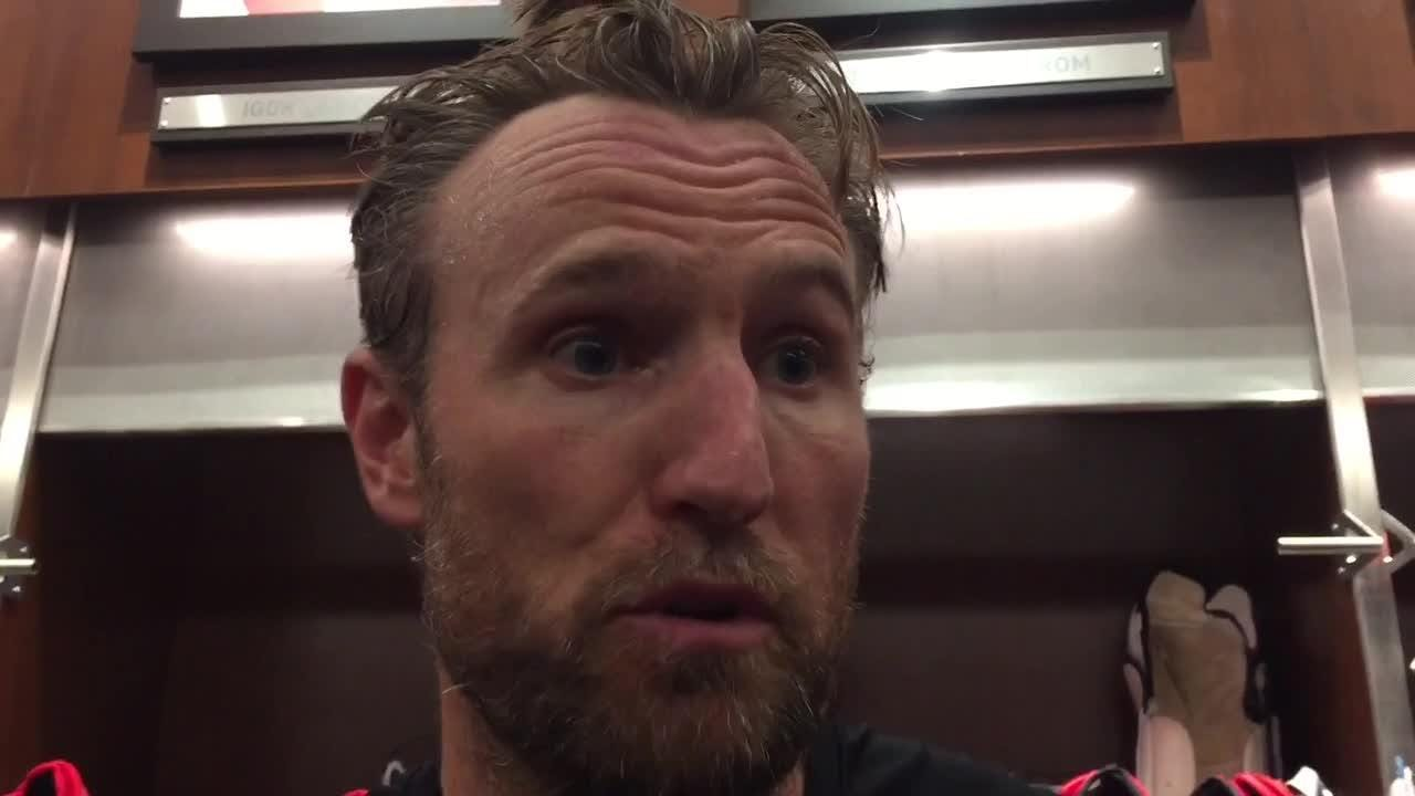 Two years ago, Niklas Kronwall was frustrated when he was on the ice. He reveals what changed. Recorded Oct. 11, 2018 in Detroit.