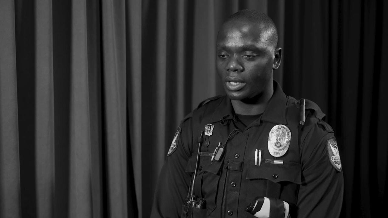 Fleeing war in Ghana, serving the U.S. army in Afghanistan, to becoming a Phoenix police officer, Germain Dosseh has led a unique and inspiring life.