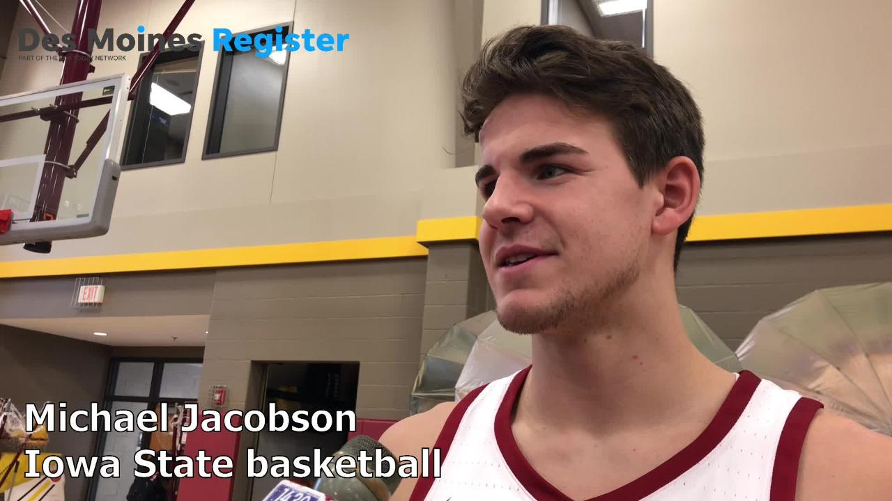 Iowa State's Michael Jacobson, a former Waukee star and Nebraska transfer, talks about sitting out a year and what he can bring to the Cyclones this season.