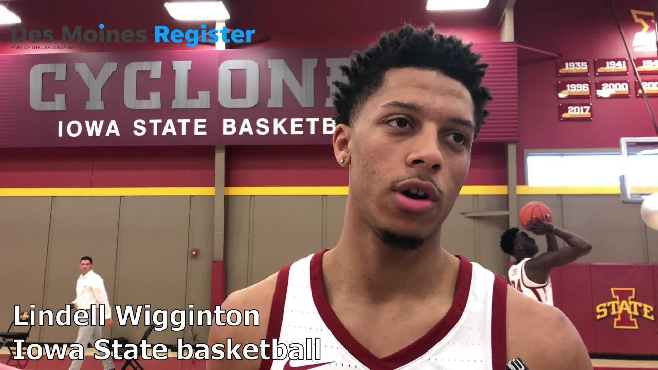 Iowa State's Lindell Wigginton and excited about the 2018-19 Cyclones men's basketball team.