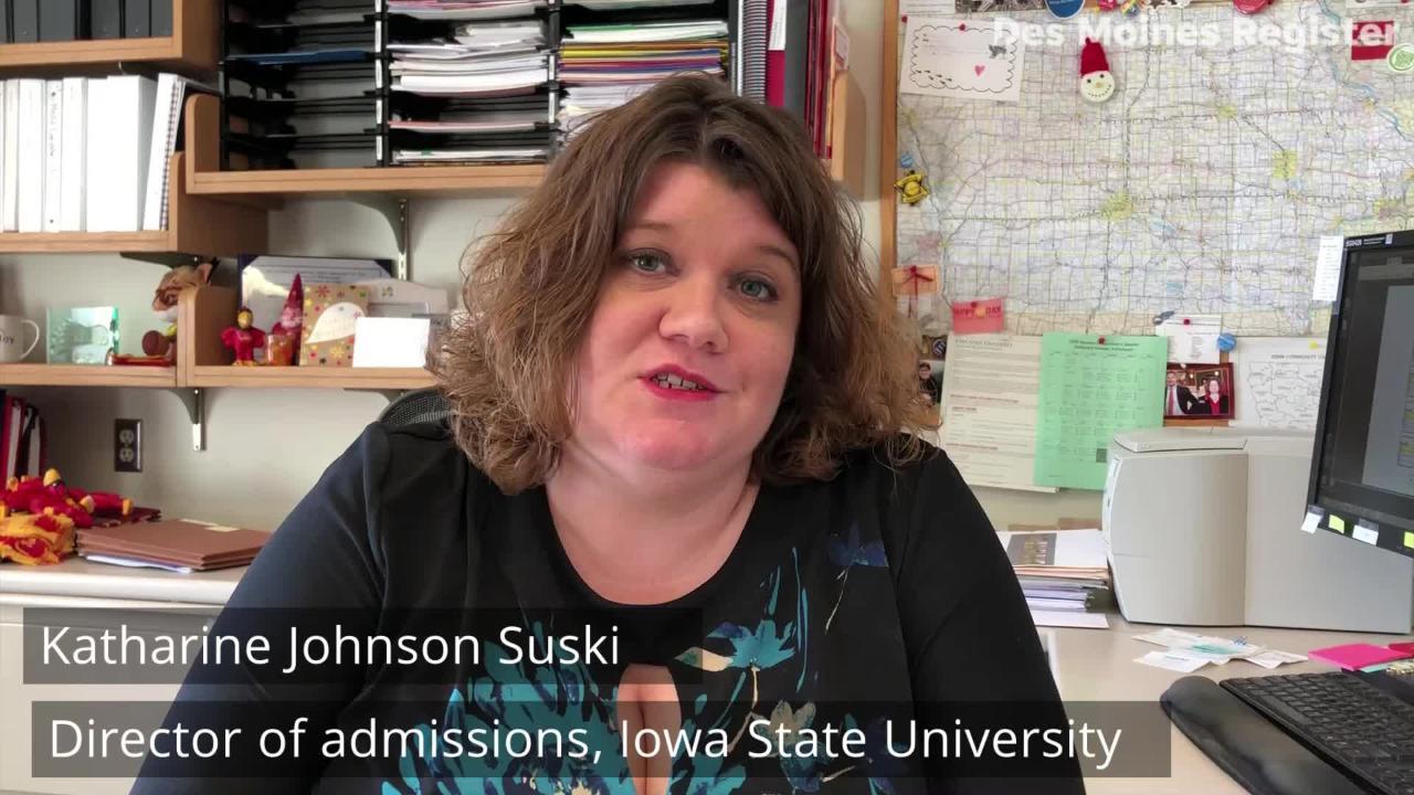 More than 7,000 international students attend the University of Iowa, Iowa State University and University of Northern Iowa.