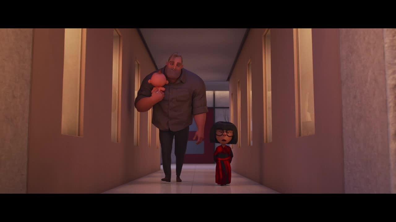 "Mr. Incredible has met his match in baby Jack-Jack. In ""Incredibles 2,"" he seeks help from Edna Mode."