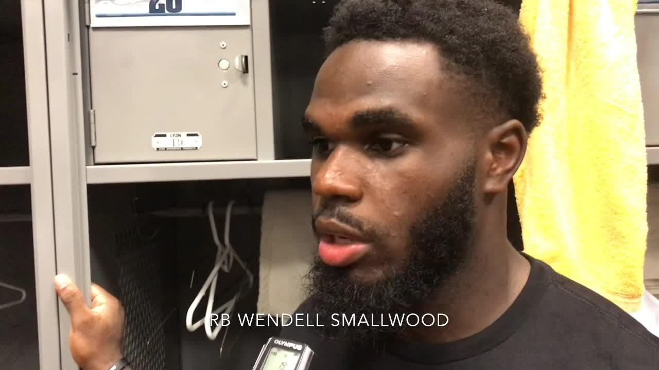 Brandon Brooks on offensive line and Wendell Smallwood on win