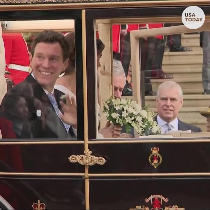 Princess Eugenie Jack Brooksbanks Wedding 6 Major Moments