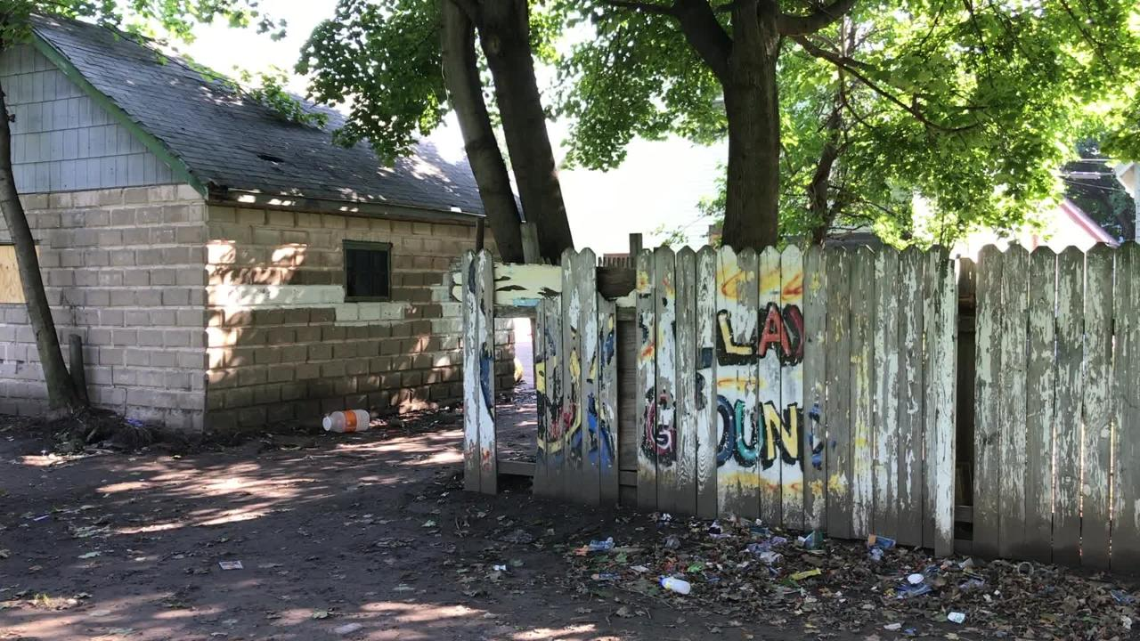 Ibero has grand plans to redevelop North Clinton Ave. But residents of nearby Hoeltzer Street wish Ibero would take care of its crack house first.