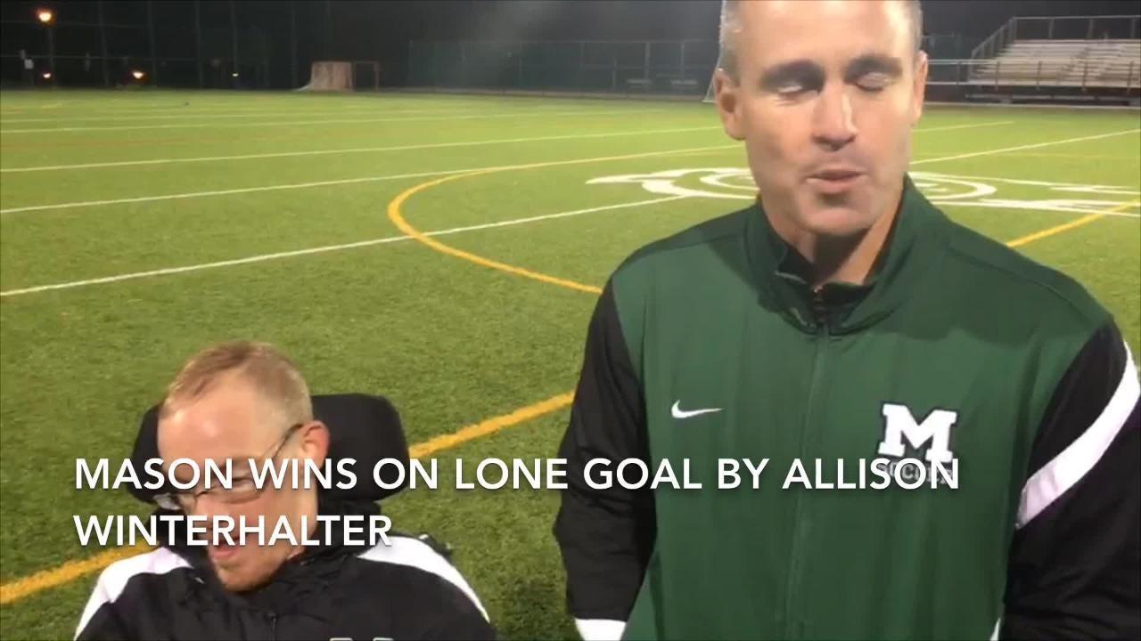 WATCH Mason girls soccer beats Fairfield 1-0 for perfect GMC record