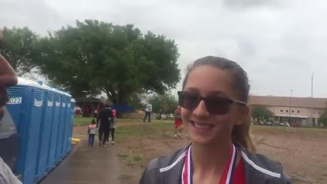 Jefferson girls cross country team won the District 1-5A title on Friday.