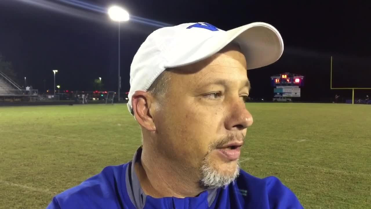Woodmont football coach Jet Turner discusses the Wildcats' 31-28 win over Westside, their fourth straight region victory.