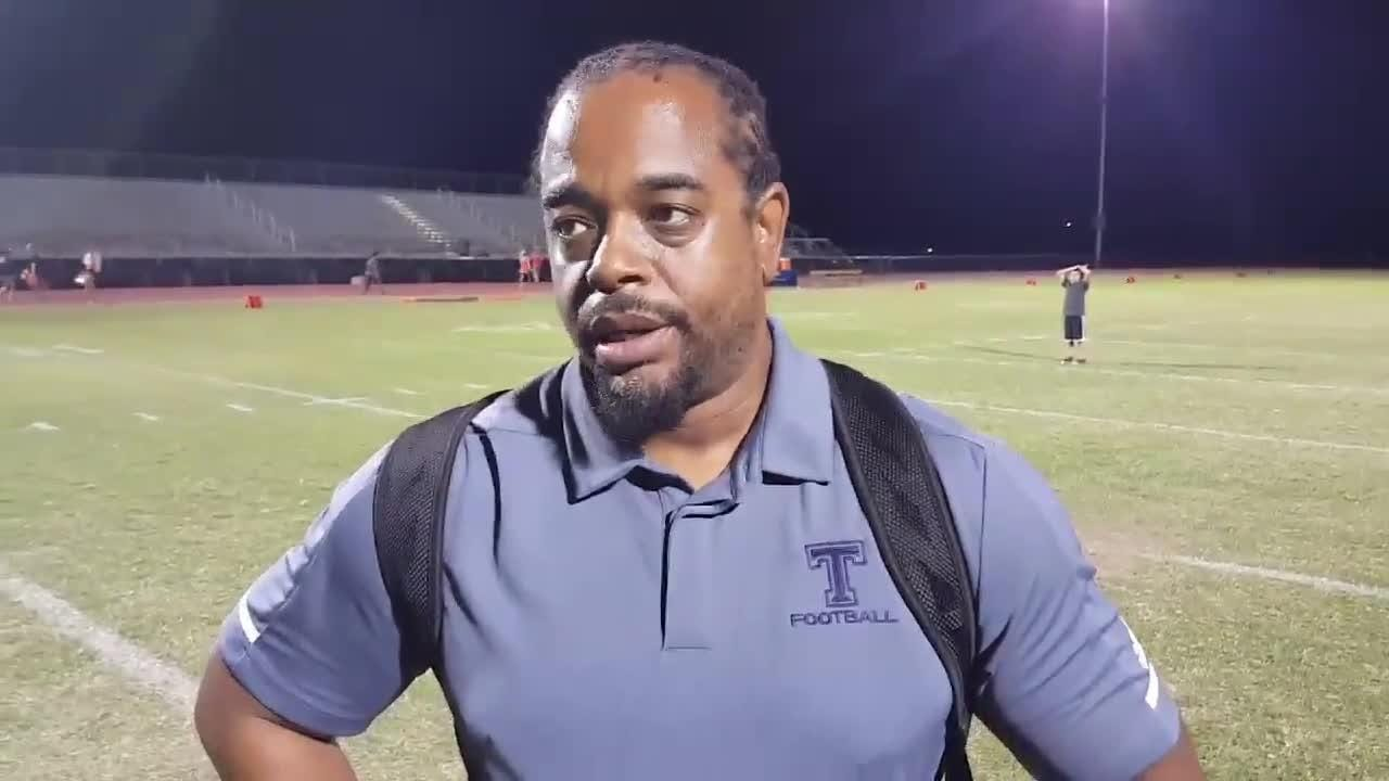 Post game interview with Tempe coach Brian Walker after 66-49 win over Thunderbird