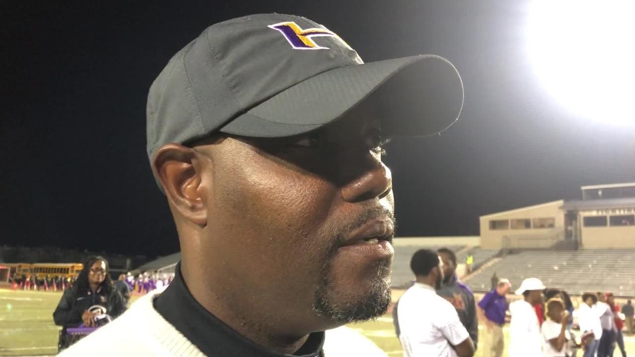 Hattiesburg High School head coach Tony Vance talks about the Tigers' 49-6 victory over Wayne County Friday night in Hattiesburg
