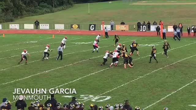 NJ football: 1st half highlights of Monmouth and Neptune