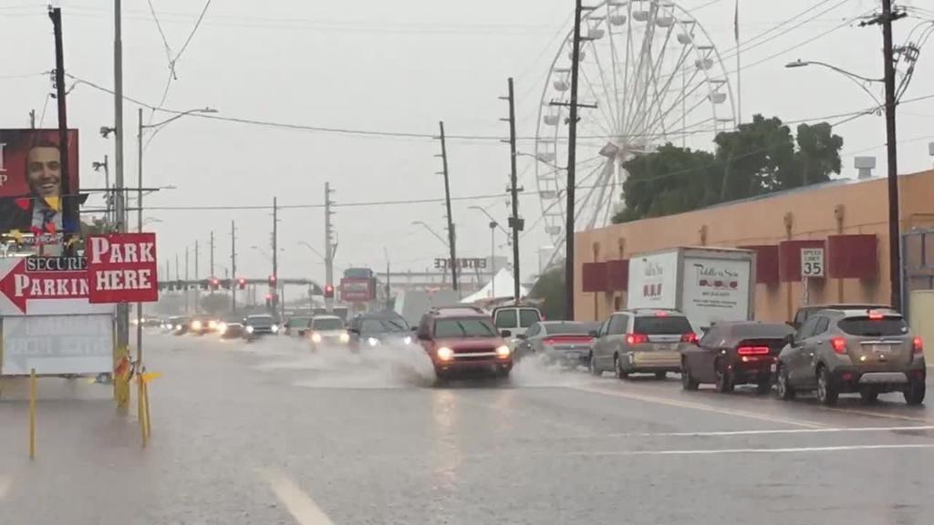 Hurricane Sergio brings rain to the Valley | Arizona Central