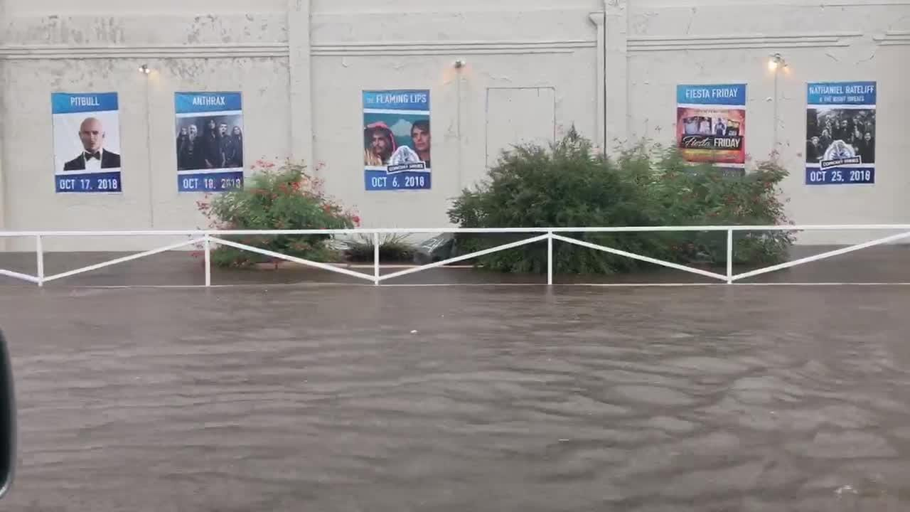 Remnants of Hurricane Sergio hit the Valley, causes flood throughout.