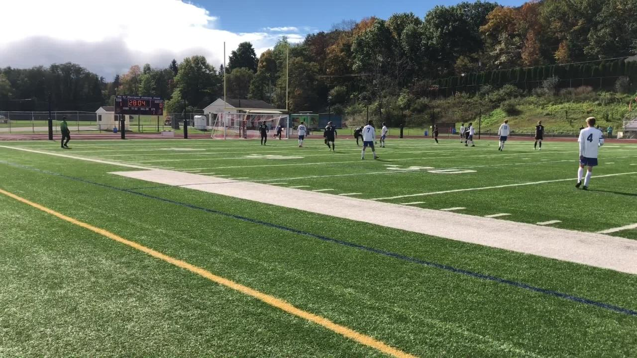 Elmira was a 2-0 winner over Oneonta in a STAC boys soccer semifinal Oct. 13, 2018 at Ernie Davis Academy.