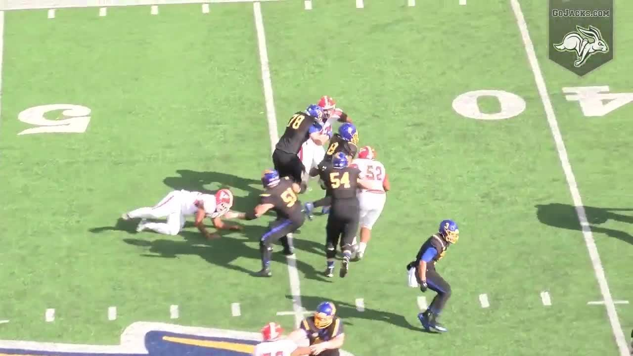 Highlights: South Dakota State routs Youngstown State on Hobo Day