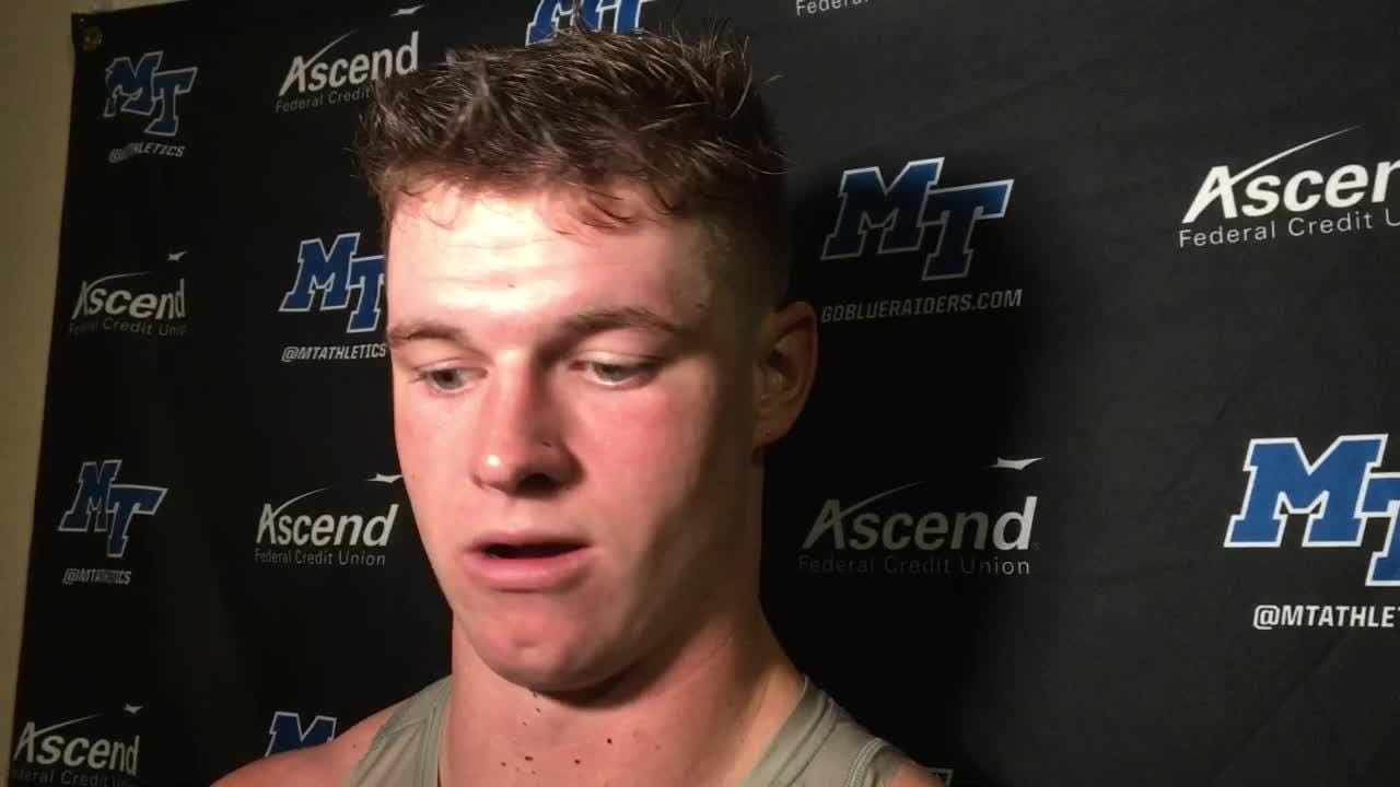MTSU football: Asher O'Hara speaks after the Blue Raiders ...