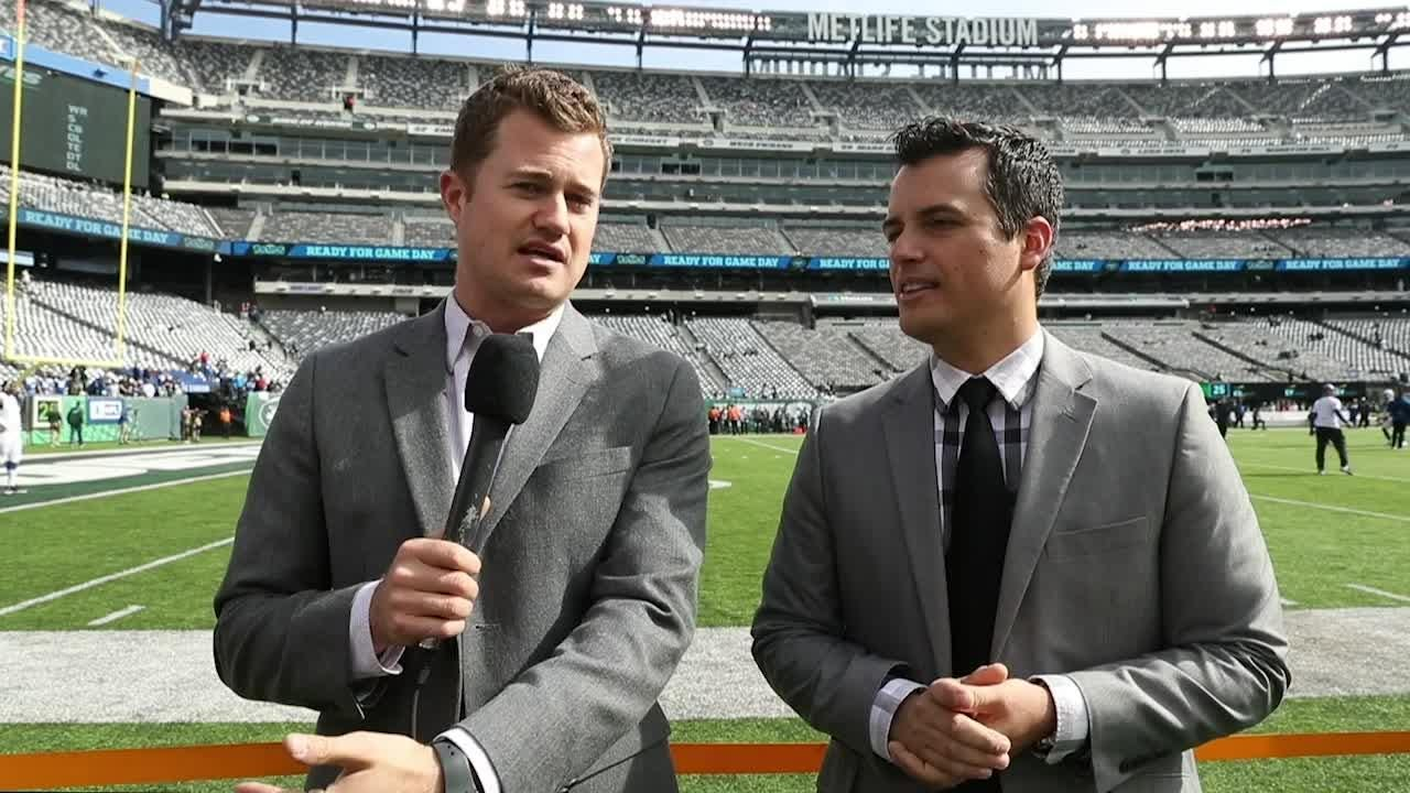 Colts insiders: Zak Keefer and Joel A. Erickson talk Colts at New York Jets pre-game