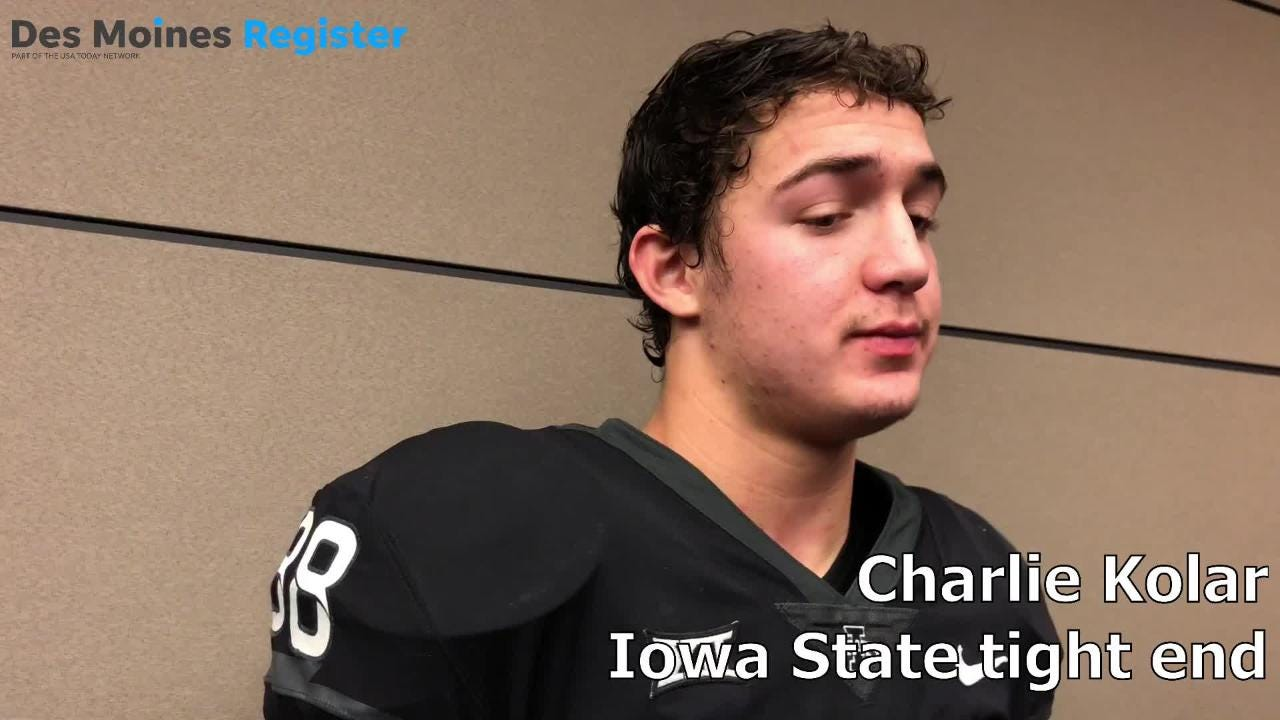 Iowa State tight end Charlie Kolar talks about his touchdown against West Virginia and the preparation necessary to be the 'next man in.'