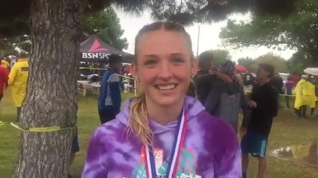 Americas cross country runner Lauren Anderson has qualified for the regional cross country meet
