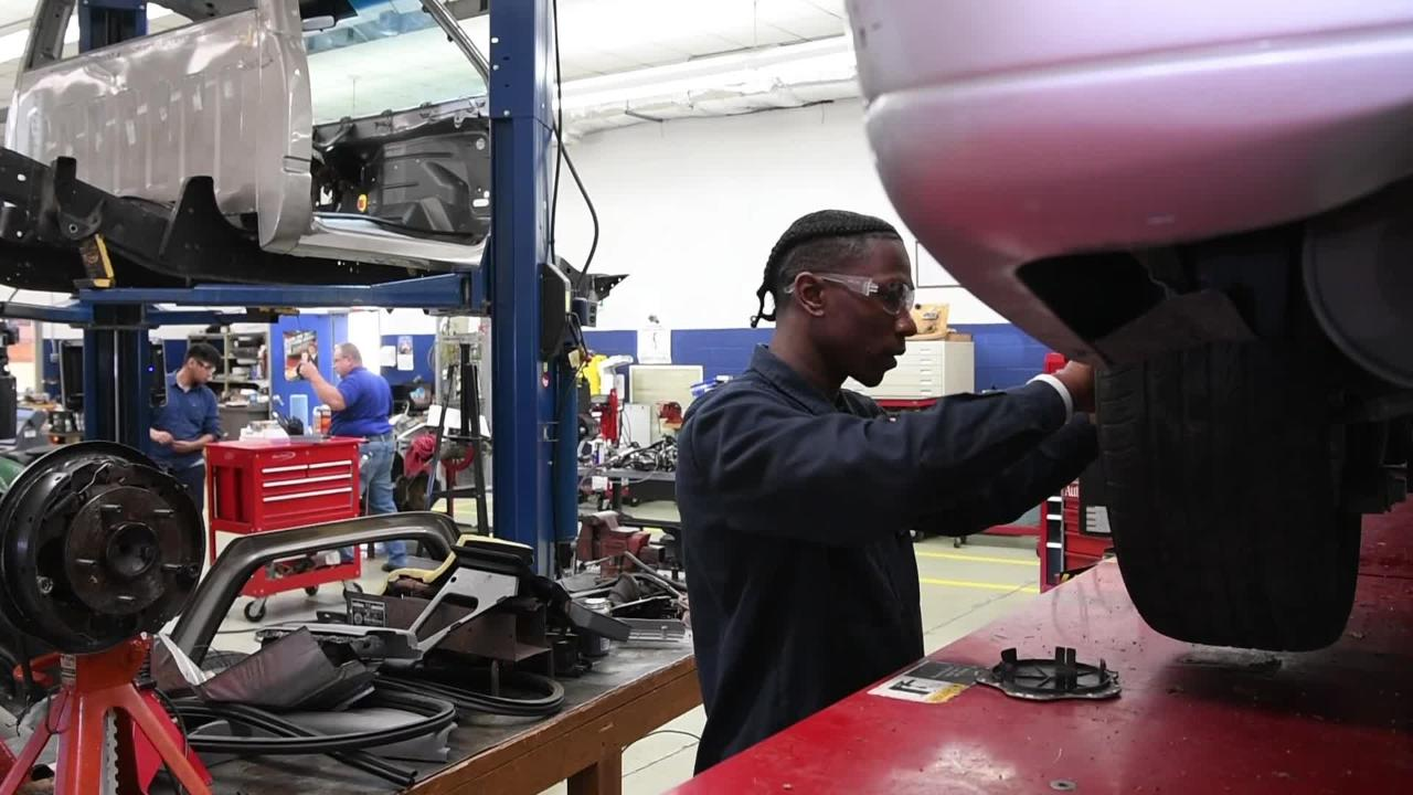 """Tennessee College of Applied Technology President Whiteville Carolyn Beverly says her schools are """"hands-on, get involved, one stop shop"""" institutions for students."""
